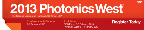 SPIE Photonics West 2013