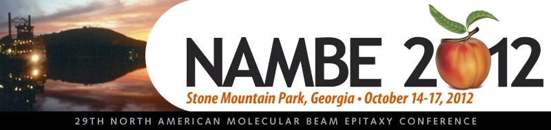 29th North American Molecular Beam Epitaxy Conference