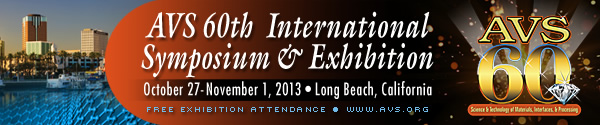 AVS 60th International Symposium &amp; Exhibition