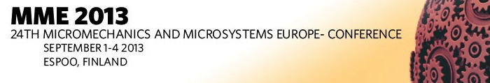Micromechanics and Microsystems Europe conference