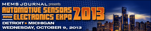 Automotive Sensors & Electronics Expo 2013