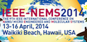 The 9th Annual IEEE International Conference on Nano/Micro Engineered and Molecular Systems