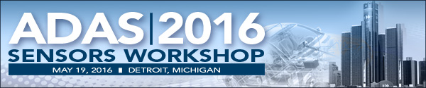 ADAS Sensors 2016 Workshop